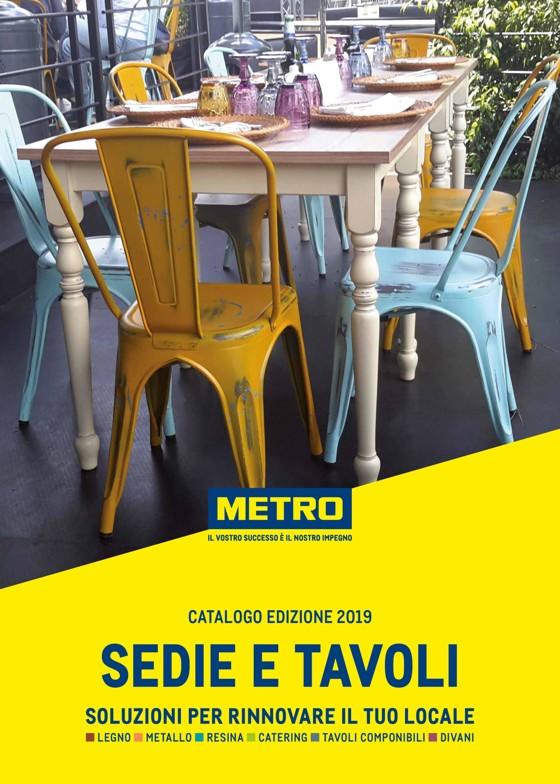Sedie E Tavoli In Offerta.Volantino Metro Offerte E Promozioni