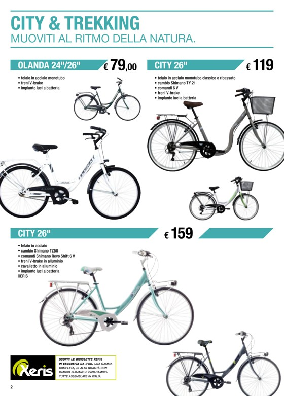 Bicicletta Xeris